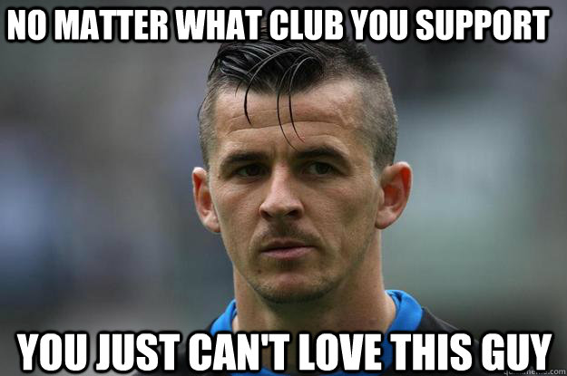 No Matter What Club You Support You Just Can't Love This Guy  Joey Barton