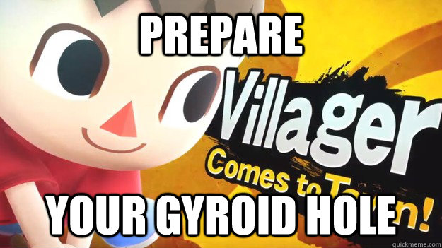 PREPARE YOUR GYROID HOLE - PREPARE YOUR GYROID HOLE  Sadistic Villager