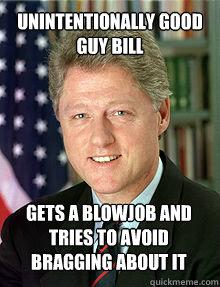 getting job Clinton a blow