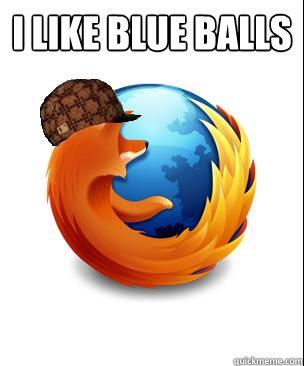 I like Blue Balls