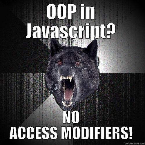 Javascript Object Oriented Programming Quickmeme