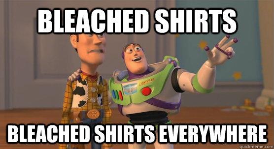 Bleached Shirts Bleached Shirts everywhere - Bleached Shirts Bleached Shirts everywhere  Toy Story Everywhere