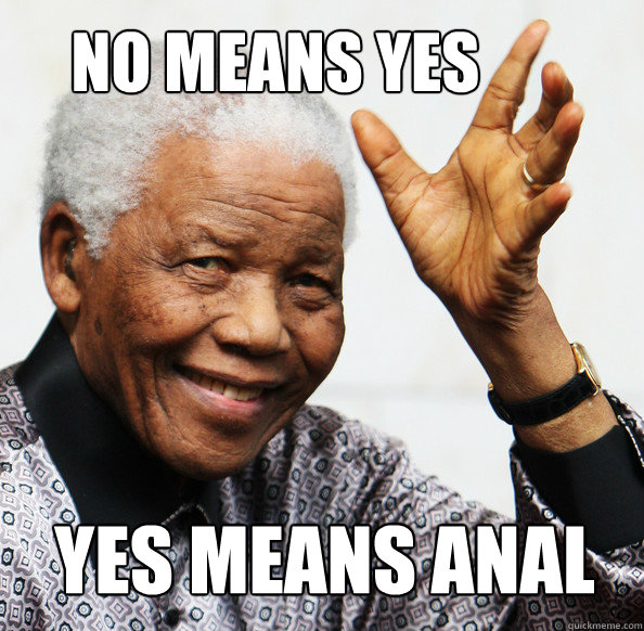 No means yes yes means anal