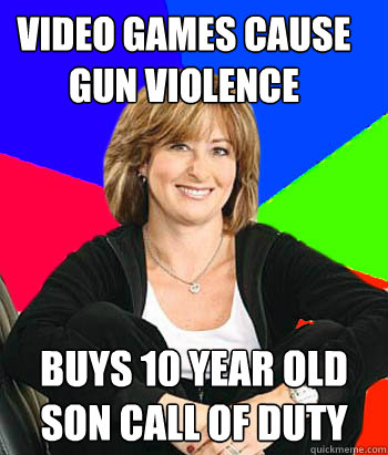 Video games cause gun violence buys 10 year old son call of duty - Video games cause gun violence buys 10 year old son call of duty  Sheltering Suburban Mom