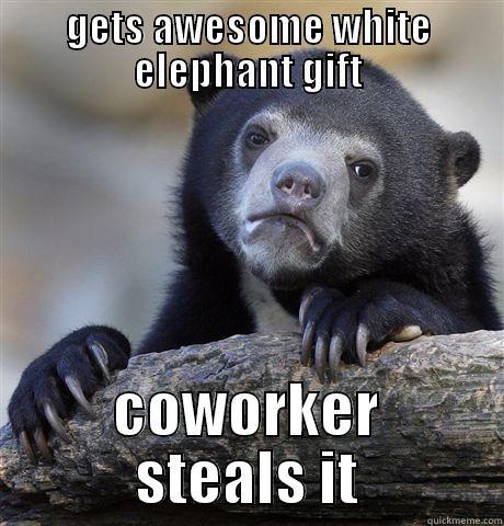 white elephant fail quickmeme