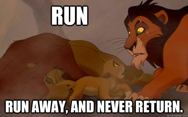 lesbian run away