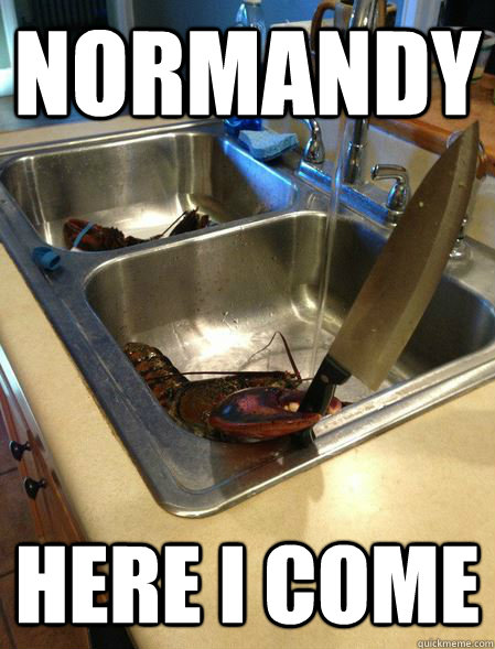 NOrmandy here I come - NOrmandy here I come  You caught the wrong one