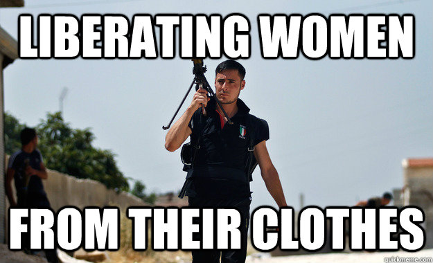 Liberating women from their clothes