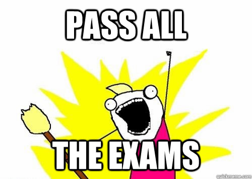 PASS ALL the exams