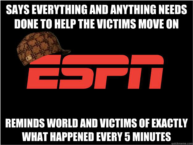 Says everything and anything needs done to help the victims move on Reminds world and victims of exactly what happened every 5 minutes - Says everything and anything needs done to help the victims move on Reminds world and victims of exactly what happened every 5 minutes  Misc