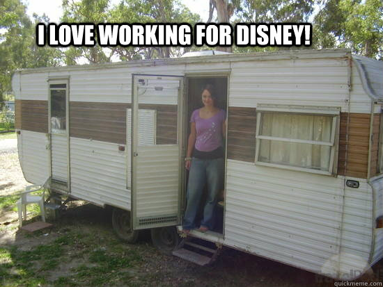 I love working for Disney!