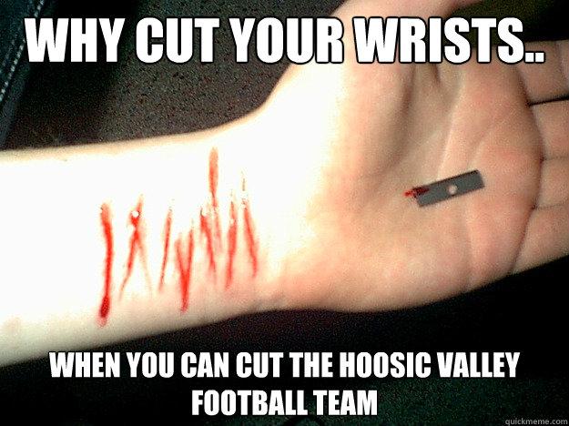 Cut Wrists