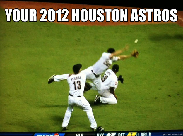 Your 2012 Houston Astros
