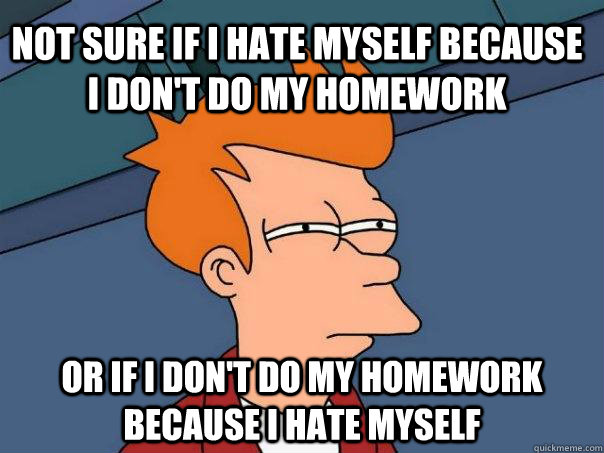 why towards do not like homework