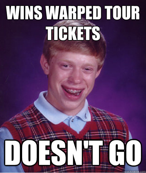 wins warped tour tickets DOESN'T GO - wins warped tour tickets DOESN'...