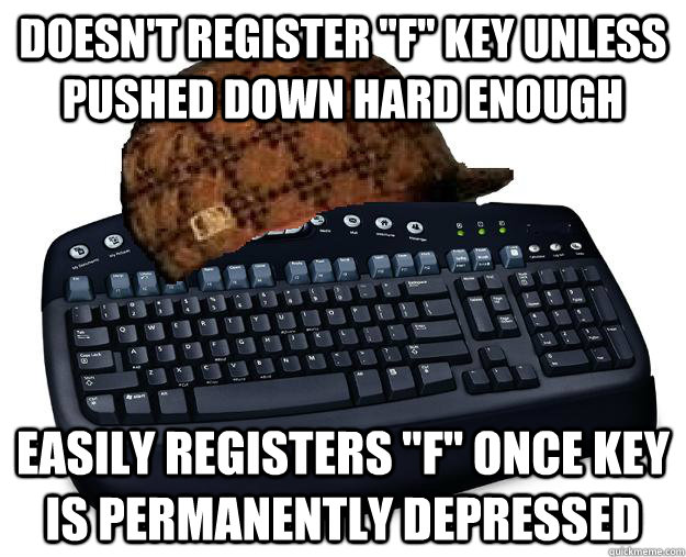 Doesn't register
