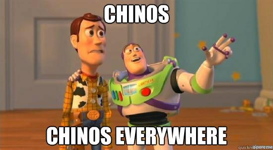 Chinos Chinos everywhere