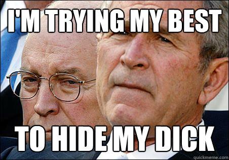 hide my dick
