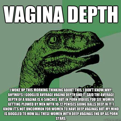 How deep average vagina