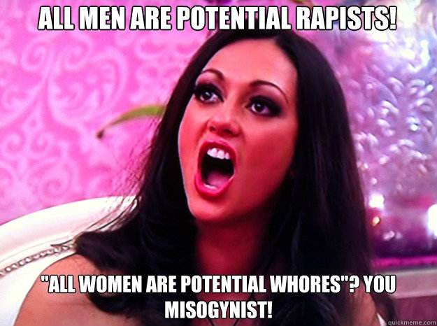 all men are potential rapists!