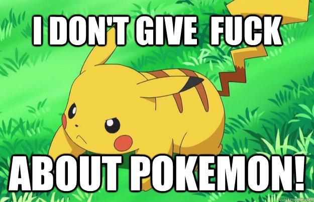 Fuck Em All Beta Pokemon
