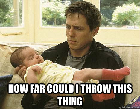 How far could I throw this thing