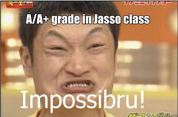 A/A+ grade in Jasso class