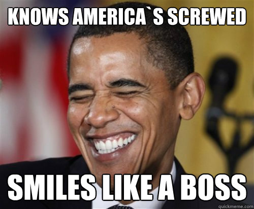 Image result for screwed by obama meme