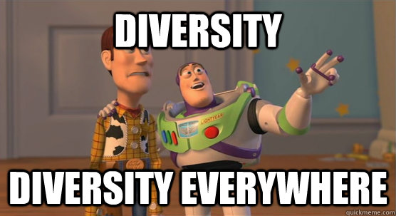 DIVERSITY DIVERSITY EVERYWHERE  - DIVERSITY DIVERSITY EVERYWHERE   Misc