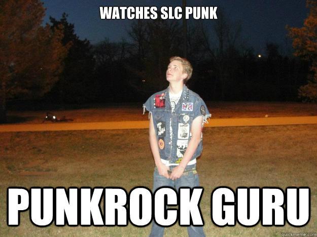 Punk rock memes