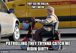 Old Lady On Scooter Memes Quickmeme