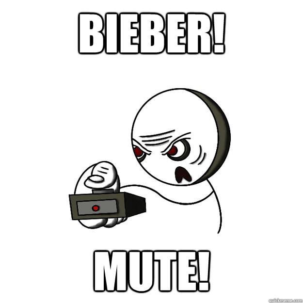 Bieber! Mute! - Bieber! Mute!  Remote Guy