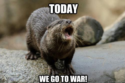 war otter memes quickmeme