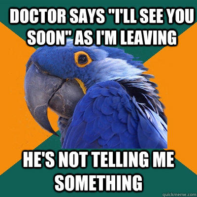 Doctor says