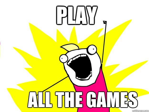 play all the games