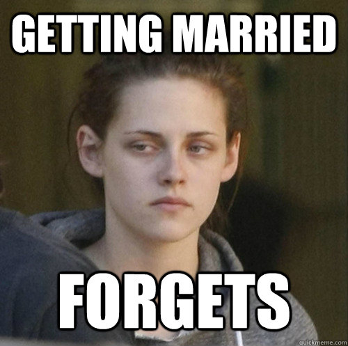 Getting married Forgets - Getting married Forgets  Underly Attached Girlfriend