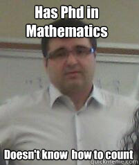 What is involved in getting a PhD in MATHEMATICS?