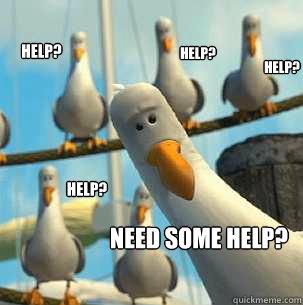 Help?  help? help?  help? need some help?