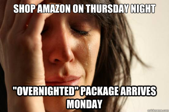 shop amazon on thursday night