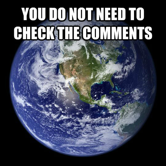 YOU DO NOT NEED TO CHECK THE COMMENTS  - YOU DO NOT NEED TO CHECK THE COMMENTS   Earth