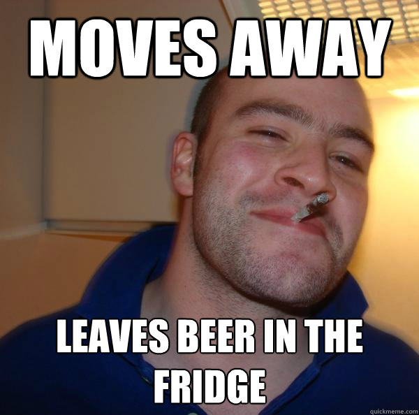 Moves away leaves beer in the fridge - Moves away leaves beer in the fridge  Misc