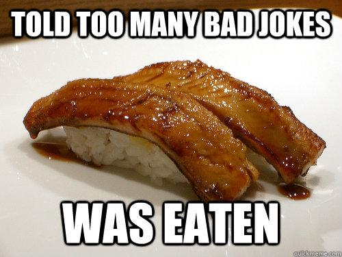 sushi dating funny jokes