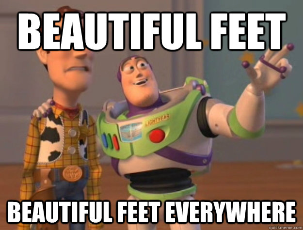 Beautiful Feet Beautiful Feet Everywhere - Beautiful Feet Beautiful Feet Everywhere  Buzz Lightyear