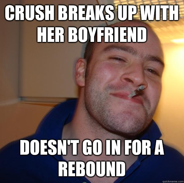 Crush breaks up with her boyfriend Doesn't go in for a rebound - Crush breaks up with her boyfriend Doesn't go in for a rebound  Misc