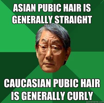 Asian Pubic Hair Straight 117