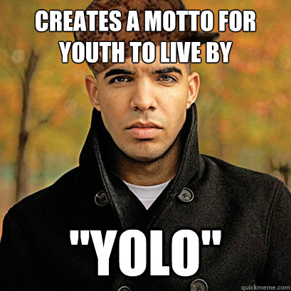 Creates a motto for youth to live by