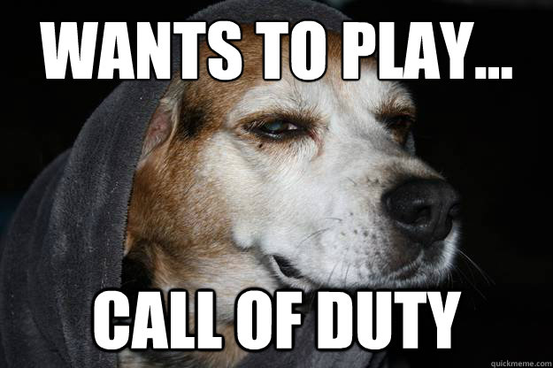 Wants to play... Call of Duty