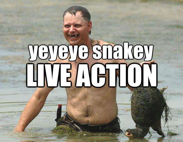yeyeye snakey LIVE ACTION