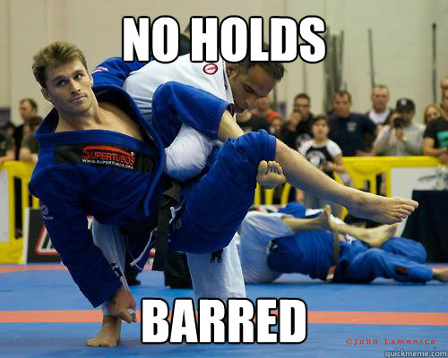 No holds barred - No holds barred  Ridiculously Photogenic Jiu Jitsu Guy