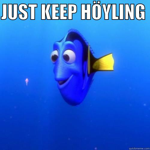 JUST KEEP HÖYLING   dory